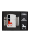 49272 Zippo öngyújtó magasfényű króm, 360° lézer gravírozott