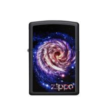 218-60003359 Zippo öngyújtó matt fekete színben- Galaxis