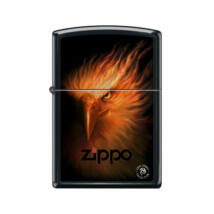 218-60003682 Zippo öngyújtó matt fekete színben -Tűzmadár