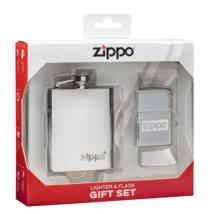 49358 Zippo flaska és öngyújtó ajándékkészlet