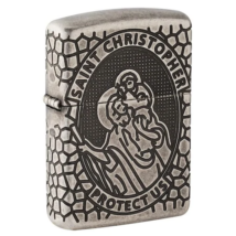 49160 Zippo Öngyújtó - St. Christopher Medal Design