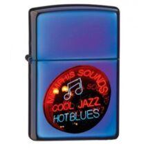 20614 Zippo öngyújtó kékes színben -Jazz Blues