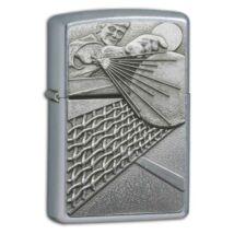 24301 Zippo öngyújtó ezüst színben - Ping Pong