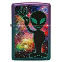 49441 Zippo Öngyújtó színes kivitelben -Alien embléma