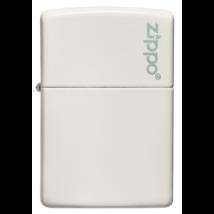 49193ZL Zippo öngyújtó, fehér színben - Zippo logóval