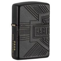 49176 Zippo öngyújtó Matt fekete, Harley Davidson, gyűjtői kiadás