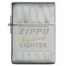 49403 Zippo öngyújtó Csiszolt króm színben -Zippo logó, limitált kiadás