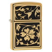 20903 Zippo öngyújtó Gold Floral Flourish