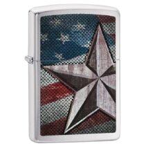 28653 Zippo öngyújtó Retro Star American flag