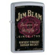 28841 Zippo öngyújtó , utcai csiszolt kivitelben- Jim Beam