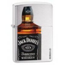 28842 Zippo öngyújtó, csiszolt króm színben - Jack Daniels