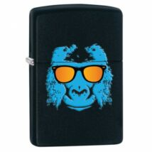 28861 Zippo öngyújtó, Matt fekete - Blue Gorilla