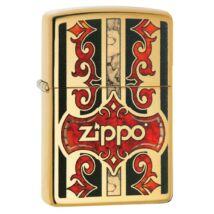 29510 Zippo öngyújtó, csiszolt réz színben - Zippo logóval
