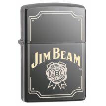 29770 Zippo öngyújtó, black ice szinben,  Jim Beam logóval