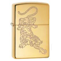 29884 Zippo öngyújtó, arany színben - Tigris