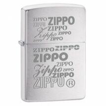 29g Zippo öngyújtó, Csiszolt Króm színű - Zippo felirat
