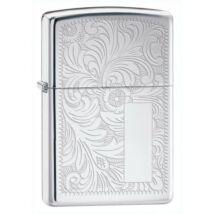 352 Zippo öngyújtó, fényes ezüst színben - Monogram hellyel