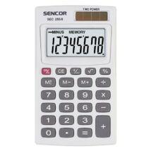 SEC 255/8 Sencor zsebszámológép