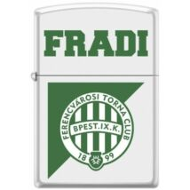 FTC 214/3 Zippo öngyújtó fehér színben -Fradi logóval