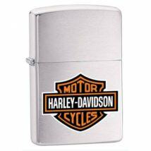 200HDH252 Zippo Öngyújtó, csiszolt króm- Harley Davidson