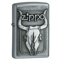 20286 Zippo Öngyújtó, bika koponyával díszítve