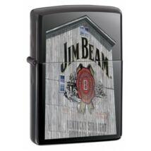 20633 Zippo öngyújtó, black ice színben - JIM BEAM