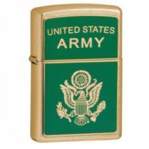 20878 Zippo öngyújtó, csiszolt arany színben - Amerikai hadsereg
