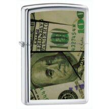 20912 Zippo öngyújtó, fényes ezüst színben -100 Dollár