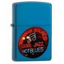 21094 Zippo öngyújtó, kék színben - Jazz