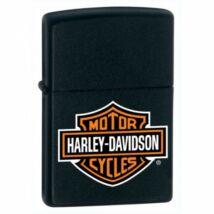 218HDH252 Zippo öngyújtó, matt fekete színben - Harley Davidson
