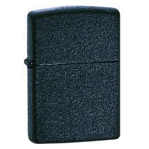 236 Zippo öngyújtó, kőmintás fekete színben