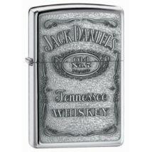 250JD427 Zippo öngyújtó, ezüst színben, Jack Daniels