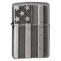 28974 Zippo öngyújtó, ezüst színű antikolt - Amerikai