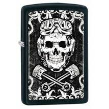 29088 Zippo öngyújtó, matt fekete színben - GasMonkey Garage