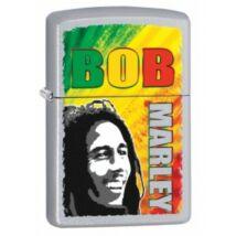 29126 Zippo öngyújtó, króm színben - Bob Marley képpel díszítve