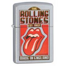 29127 Zippo öngyújtó, szatényfényű króm színben - Rolling Stones