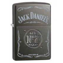 29150 Zippo öngyújtó, szürke színben, Jack Daniels emblémával