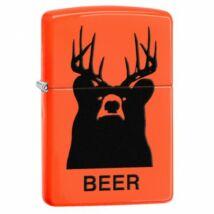 29343 Zippo öngyújtó Neon narancssárga - Beer