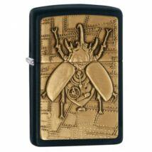 29567 Zippo öngyújtó, matt fekete színben - Steampunk Beetle