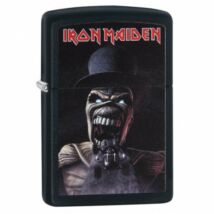 29576 Zippo benzines öngyújtó Matt fekete színbe - Iron Maiden
