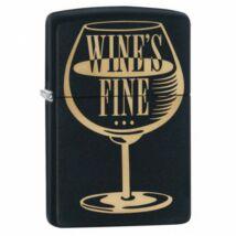 29611 Zippo öngyújtó matt fekete - Wines' fine