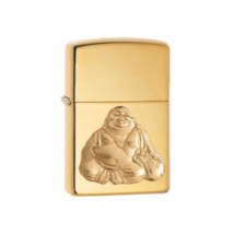 29626 Zippo öngyújtó, polirozott réz színben - Buddha