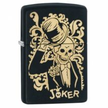 29632 Zippo öngyújtó matt fekete - Fekete Joker