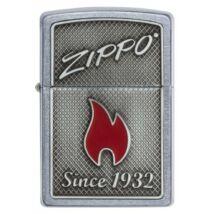 29650 Zippo benzines öngyújtó, utcai csiszolt kivitelben, gravírozható - 1932 óta