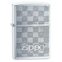49205 Zippo öngyújtó ezüst színben logóval, lézergravírozás
