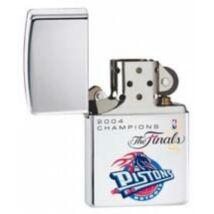 20885 Zippo öngyújtó, ezüst színben - 2004 Champions Pistons