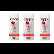 Zippo tűzkő - öngyújtó pótlásához 3 db-os csomag
