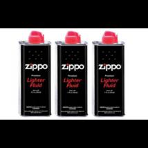 Zippo benzin 125 ml - utántöltéshez 3 db-os csomag