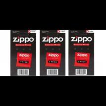 Zippo kanóc - öngyújtó pótlásához 3 db-os csomag