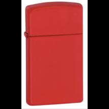 1633 Zippo Slim-vékony öngyújtó, piros színben